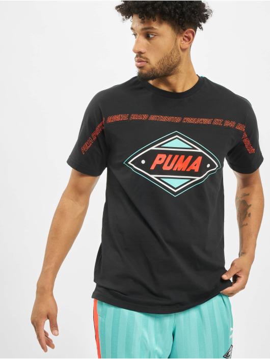 Puma T-Shirty luXTG czarny