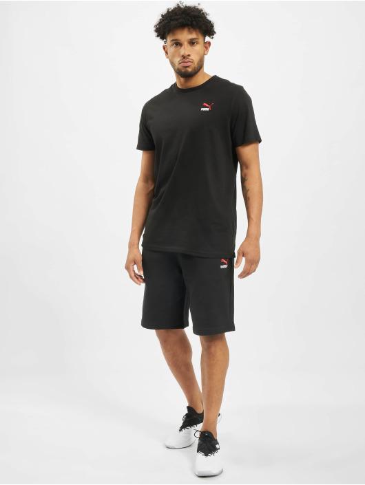 Puma T-Shirty Classics Emb czarny