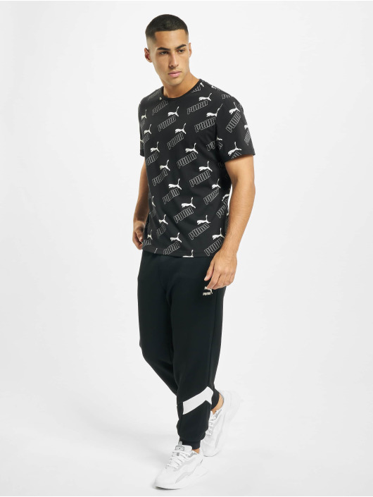 Puma T-Shirty Amplified czarny