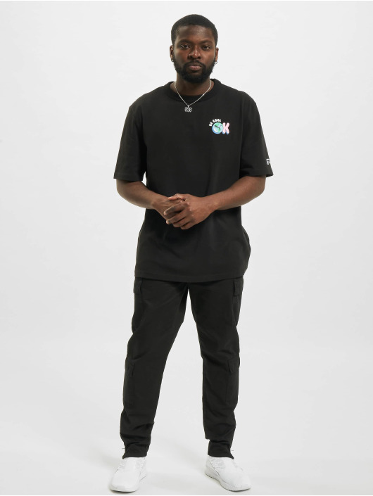 Puma T-Shirty Downtown Graphic czarny