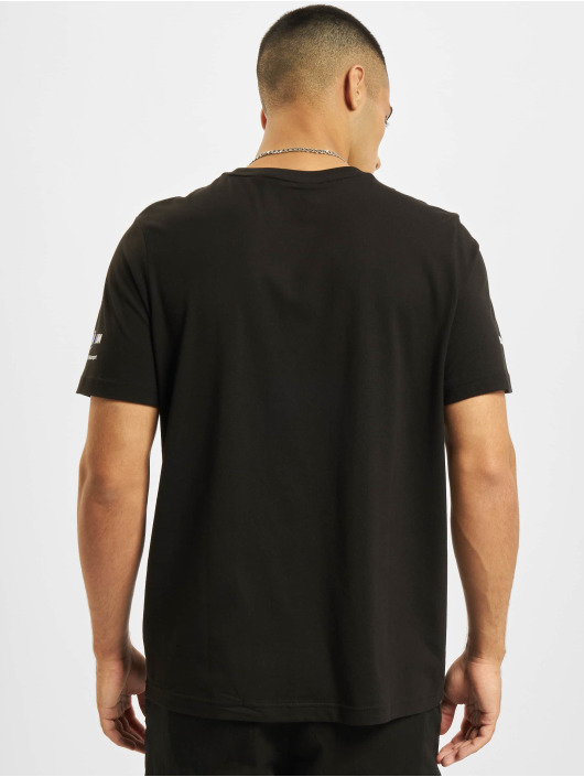 Puma T-Shirty BMW MMS Abstract Graphic czarny