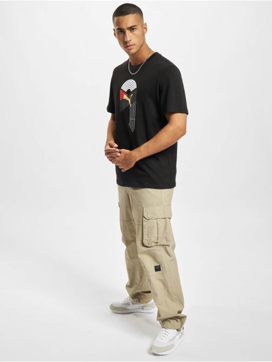 Puma T-Shirty AS Graphic czarny