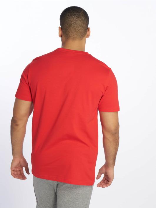 Puma T-Shirty Classics Logo czerwony