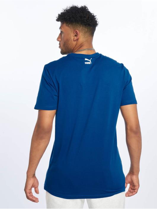 Puma T-Shirty Graphic XTG niebieski