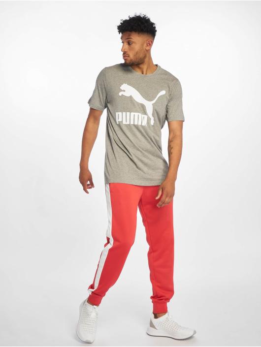 Puma T-Shirty Classics szary