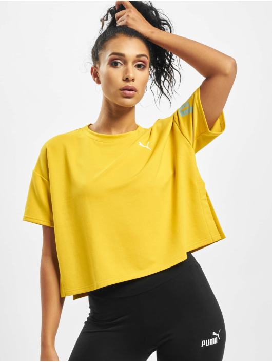 Puma T-Shirty Modern Sport Sweat zólty