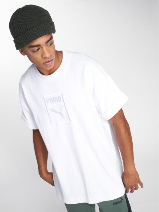 Puma T-skjorter Downtown hvit