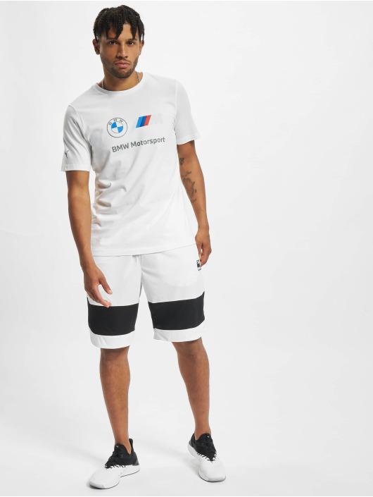 Puma T-skjorter BMW MMS Logo hvit