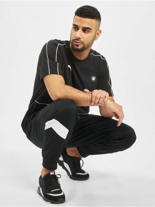 Puma T-skjorter BMW M Motorsport T7 svart