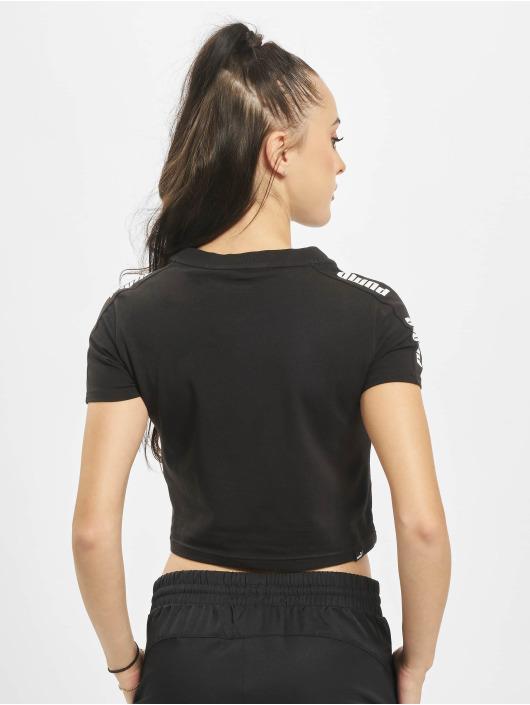 Puma T-skjorter Amplified Logo Fitted svart