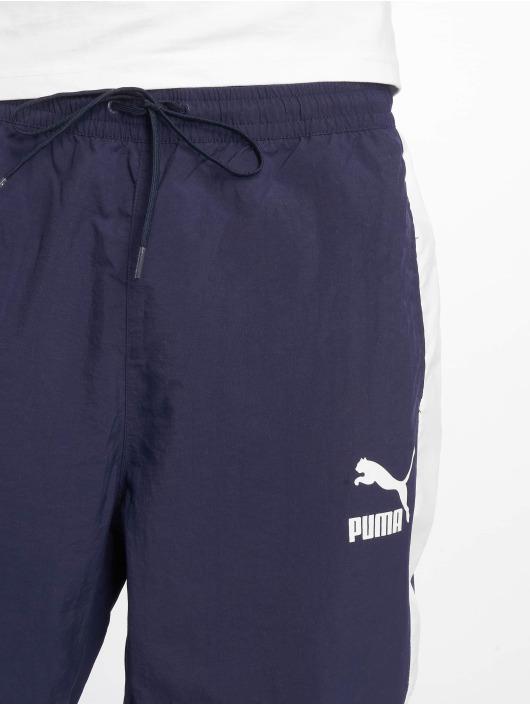 Puma tepláky Retro Woven modrá