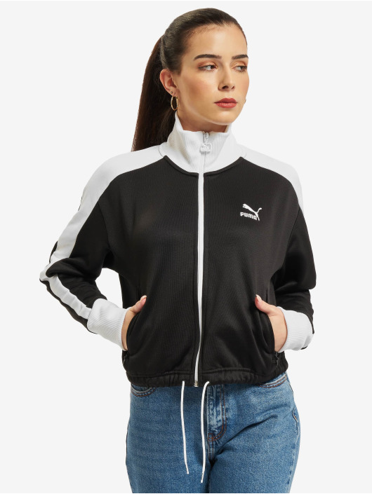 Puma Transitional Jackets Iconic T7 Crop svart