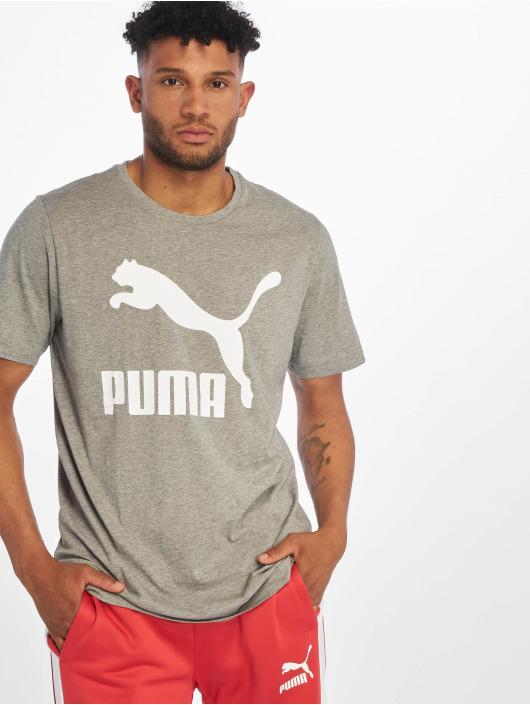 Puma Tričká Classics šedá