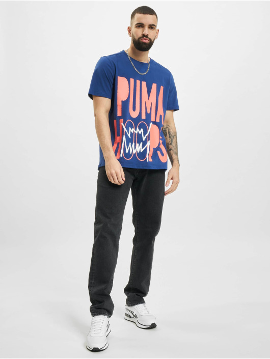 Puma Tričká BP 1 modrá