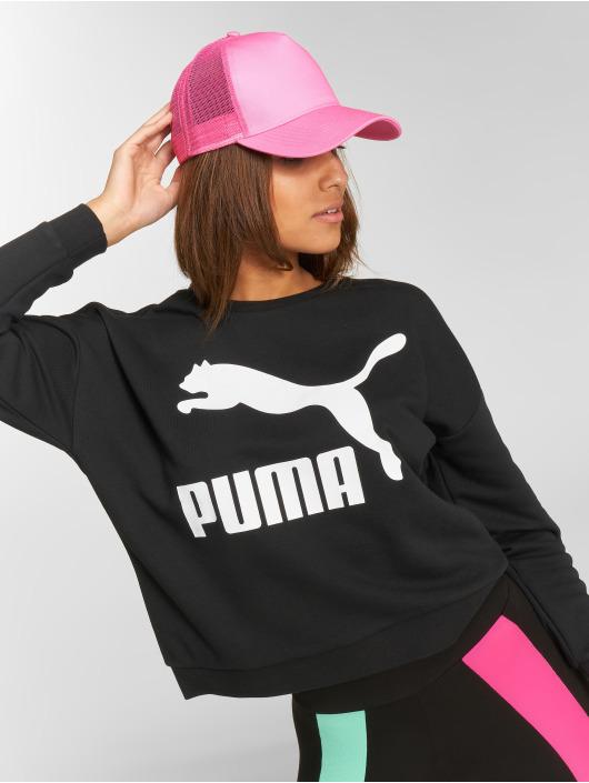 Puma trui Classics Logo zwart