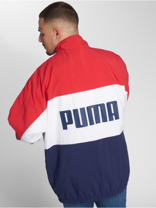 Puma Übergangsjacke Retro Woven blau