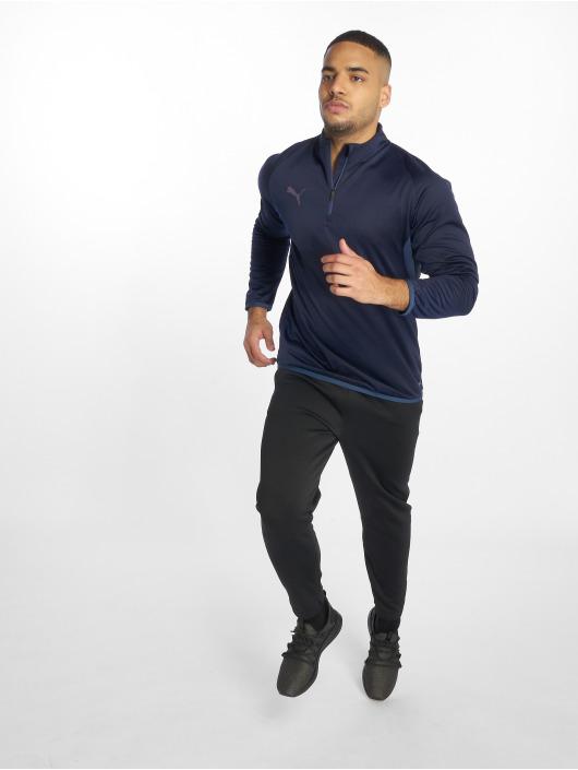 Puma Urheilu T-paidat ftblNXT 1/4 Zip sininen