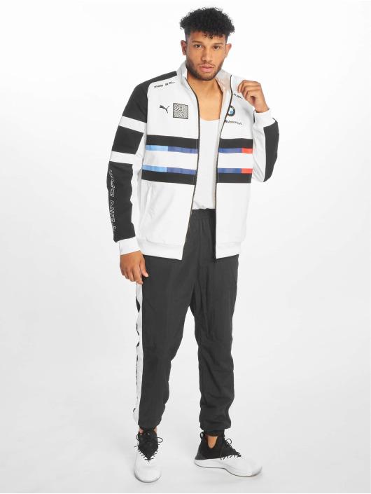 Puma Veste mi-saison légère BMW MMS Street Woven blanc