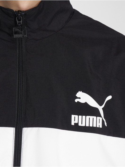 Puma Veste mi-saison légère Retro Woven noir