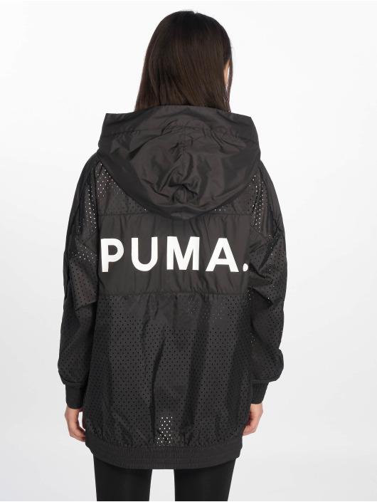 Puma Veste mi-saison légère Chase Woven noir