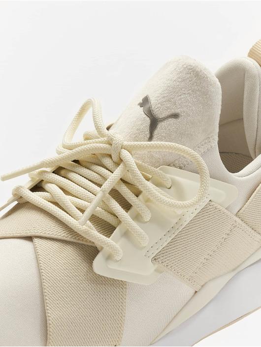 Puma Zapatillas de deporte Muse Satin II blanco
