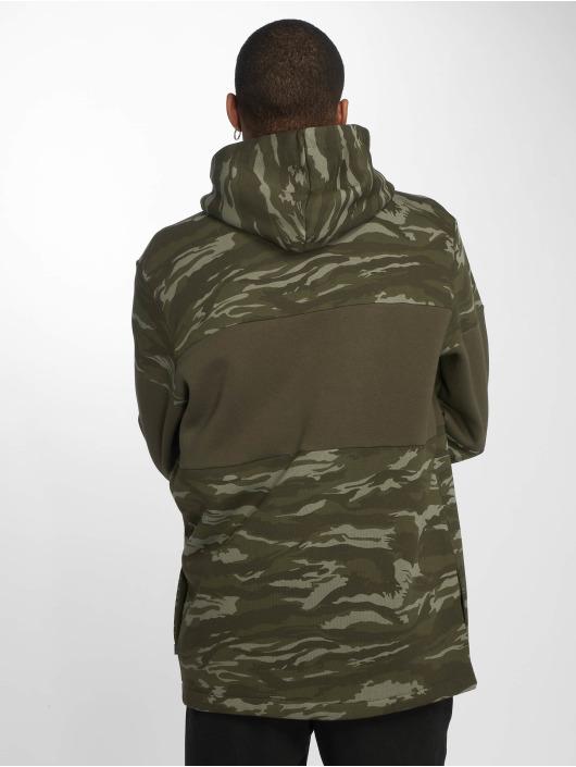 Puma Zip Hoodie Camo Fleece Full Zip Hoody oliwkowy