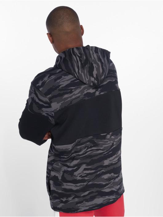 Puma Zip Hoodie Camo Fleece schwarz