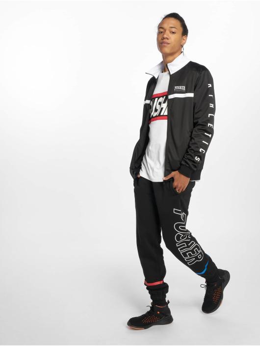 Pusher Apparel Демисезонная куртка Athletics черный