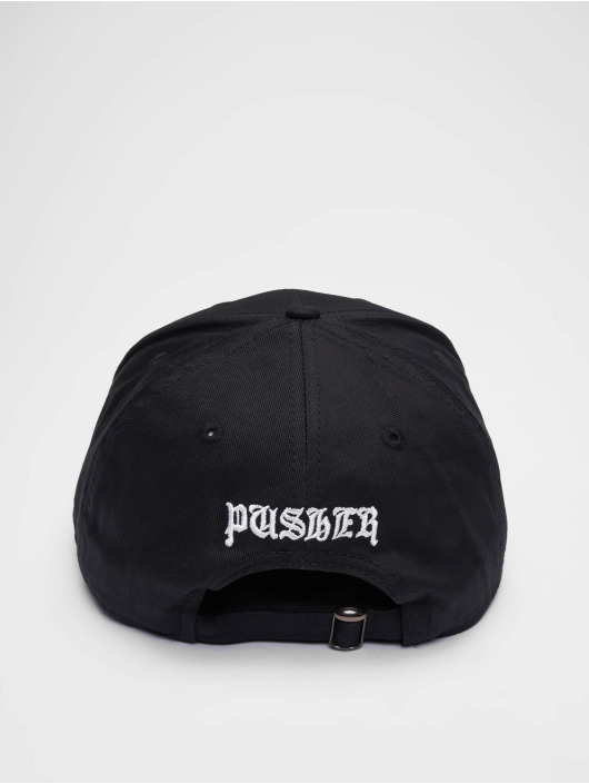 Pusher Apparel Кепка с застёжкой Pay Me черный