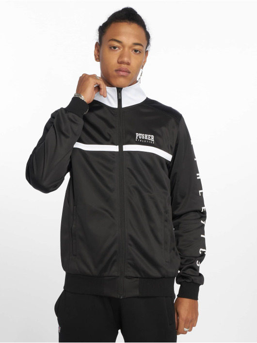 Pusher Apparel Chaqueta de entretiempo Athletics negro