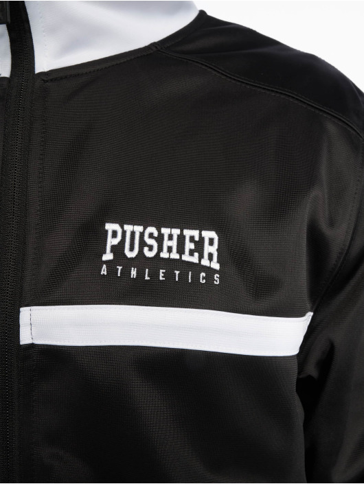 Pusher Apparel Chaqueta de entretiempo Athletics negro