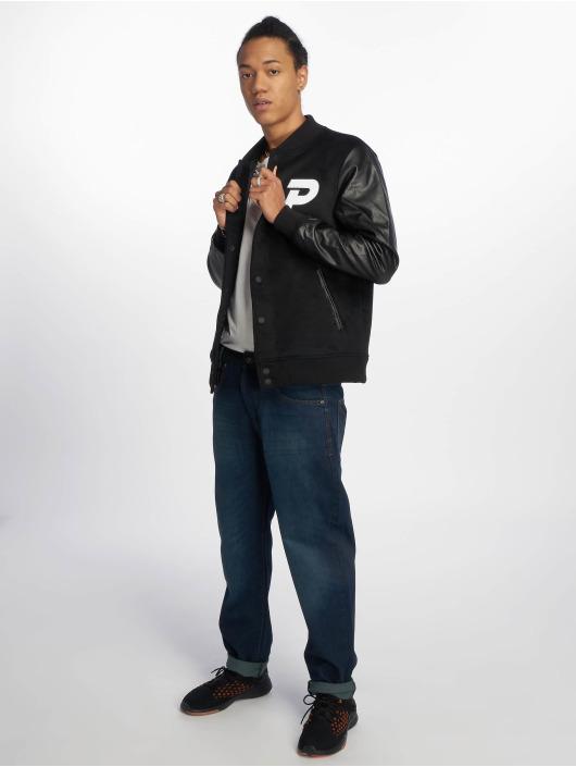 Pusher Apparel College Jacket Varsity black