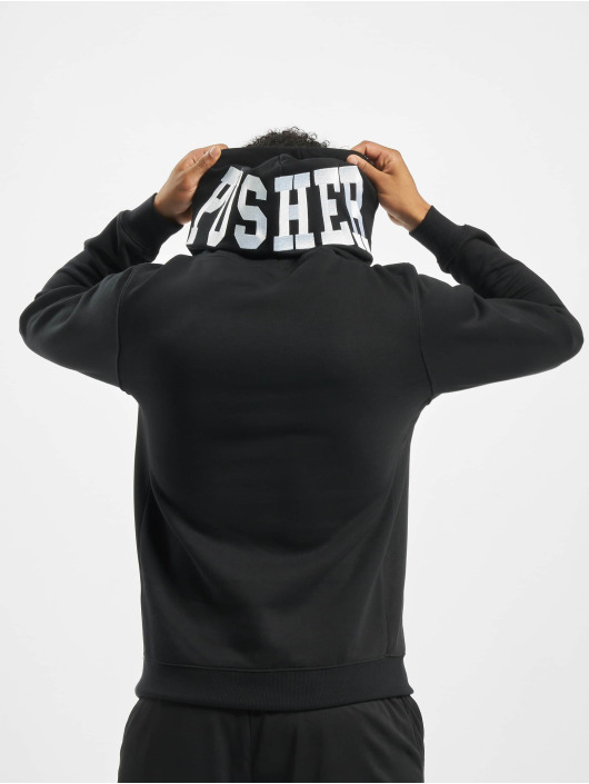 Pusher Apparel Hoodie Athletics svart