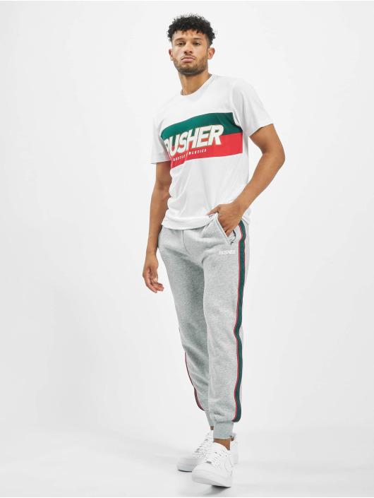 Pusher Apparel Jogging kalhoty Hustle šedá