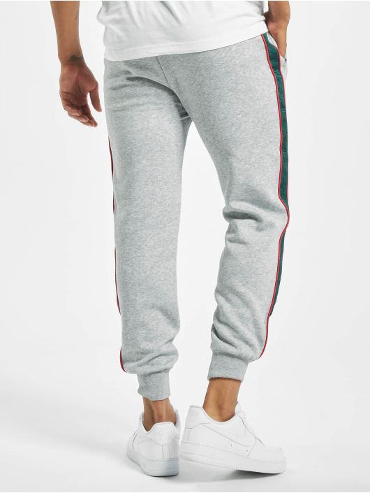 Pusher Apparel joggingbroek Hustle grijs