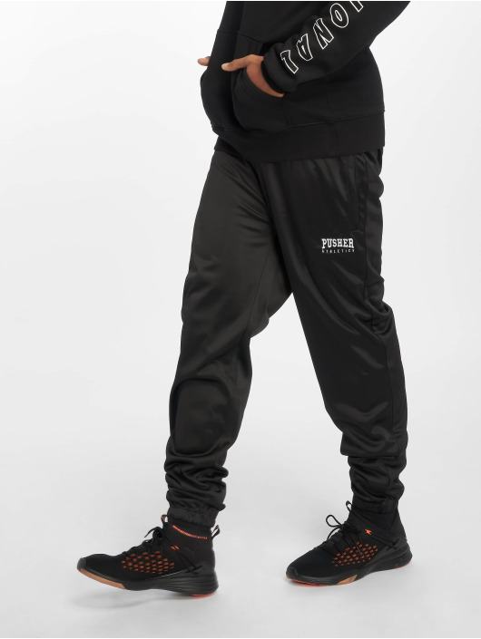 Pusher Apparel joggingbroek Athletics zwart