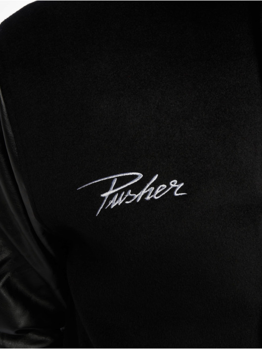 Pusher Apparel Lightweight Jacket Varsity black