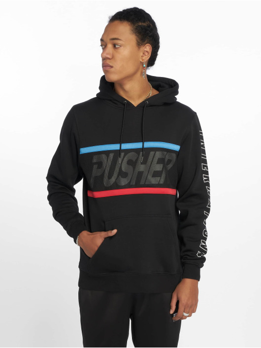 Pusher Apparel Mikiny Mesh èierna