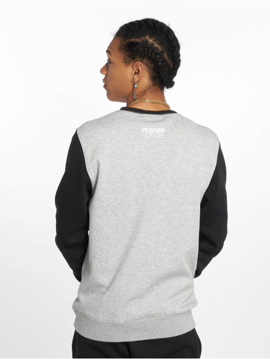 Pusher Apparel Pullover More Power grey