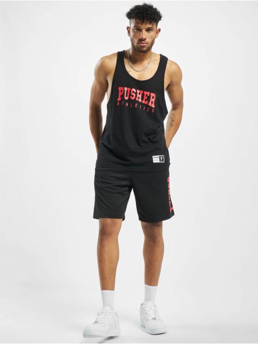 Pusher Apparel Shorts Athletics Mesh schwarz