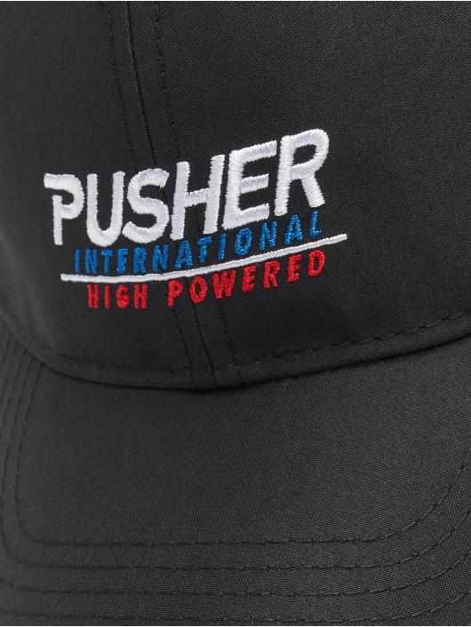 Pusher Apparel Snapback Cap High Powered black