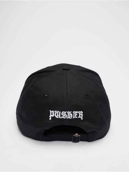 Pusher Apparel Snapback Cap Pay Me black