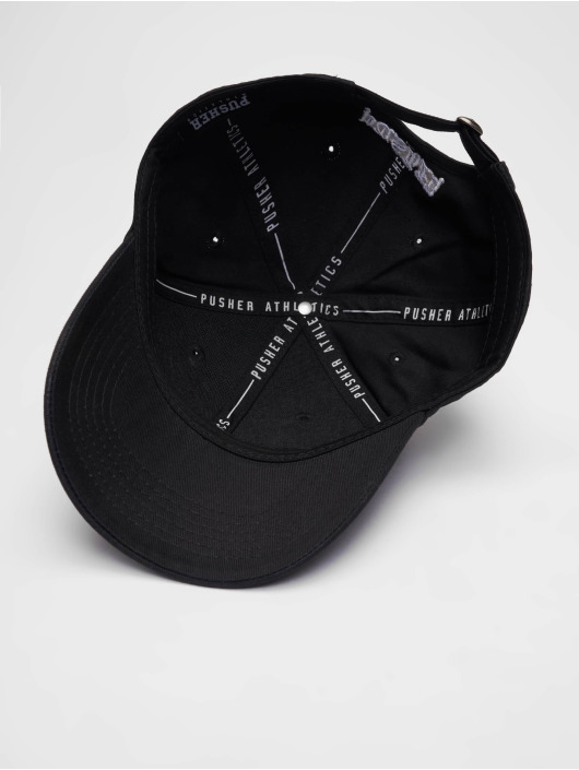 Pusher Apparel snapback cap Pay Me zwart