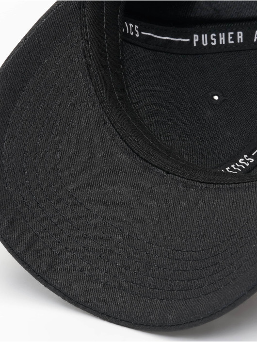 Pusher Apparel Snapback Caps High Powered svart
