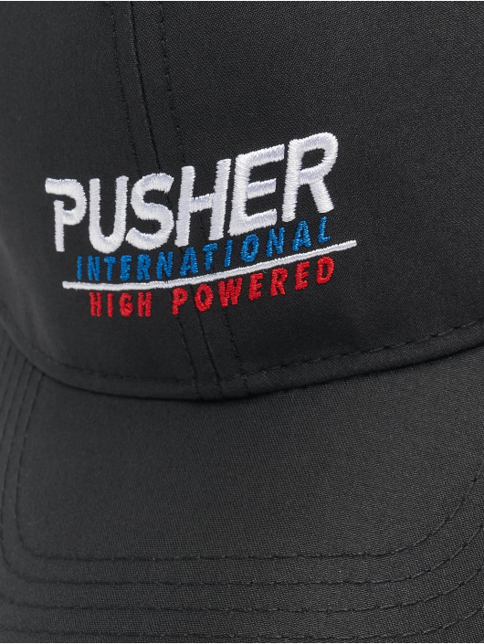 Pusher Apparel Snapbackkeps High Powered svart