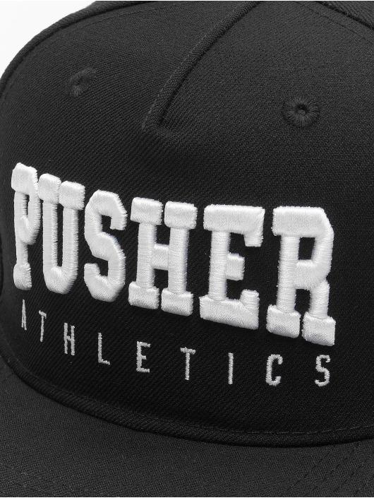 Pusher Apparel Snapbackkeps Athletics svart