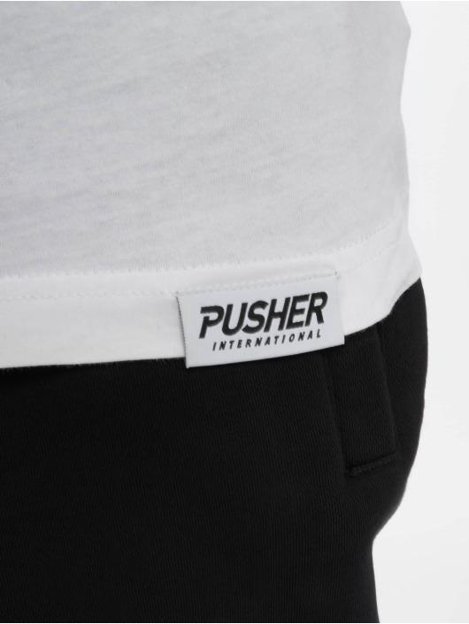 Pusher Apparel T-Shirt Power blanc