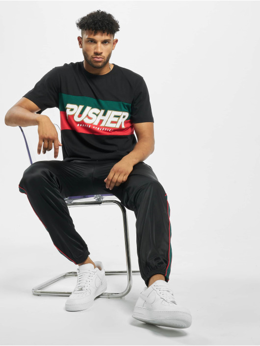 Pusher Apparel T-shirt Hustle nero