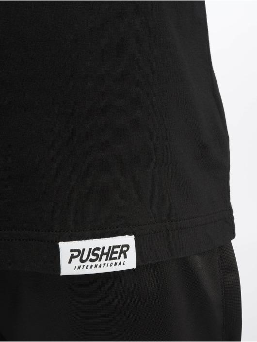 Pusher Apparel T-Shirt Pshr schwarz