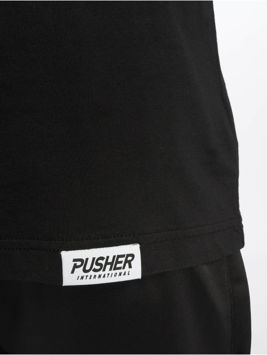 Pusher Apparel t-shirt Pshr zwart